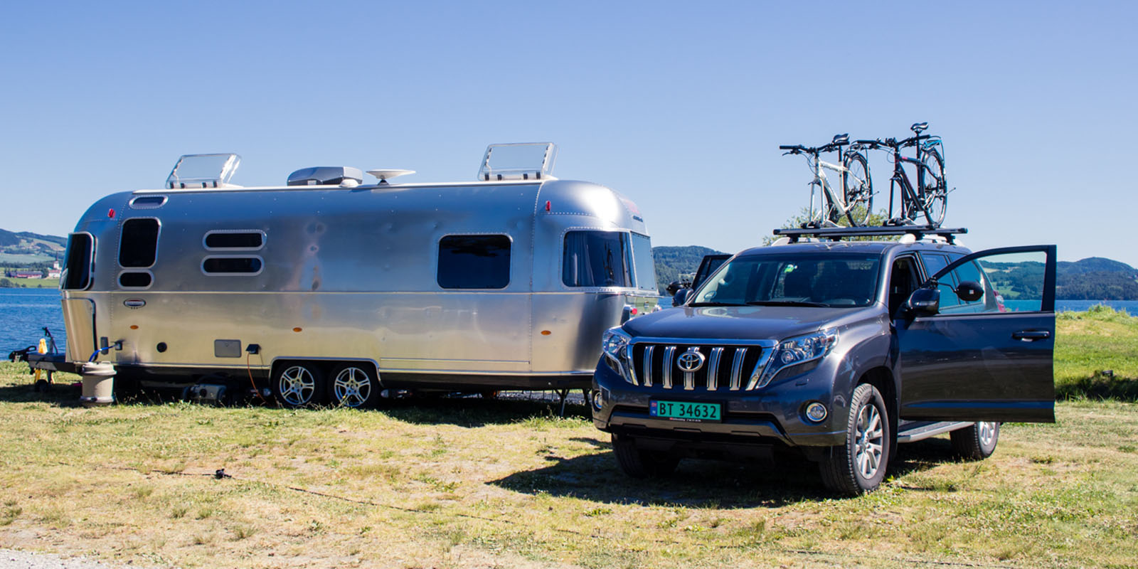 The Airstream Our mothership