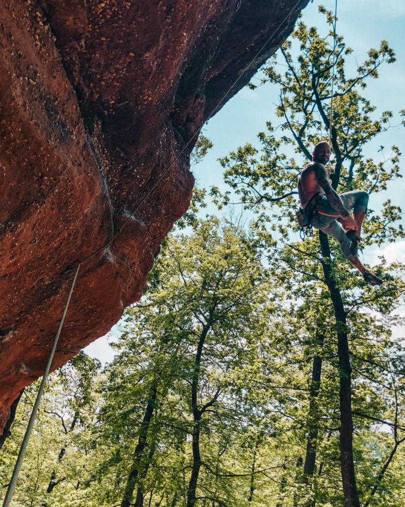 Climbing Prince Charles